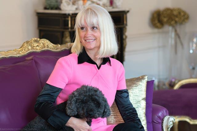Sarah Lauferon créatrice et propriétaire du Petit Palais d'Aglaé - hotel de charme 4 étoiles à Gordes - Provence
