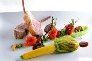 Frédéric Trabuc chef des tables d'Euphrosyne le restaurant du Petit Palais d'Aglaé - Gordes - Provence