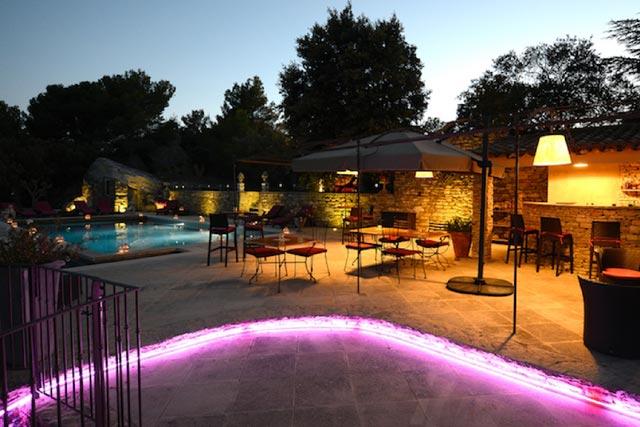Thomas Barman Petit Palais d'Aglaé Gordes Hotel Provence Luberon