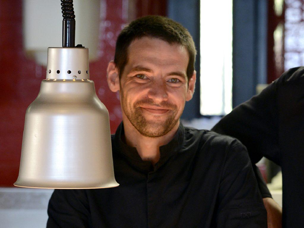 Nicolas Second de cuisine au Petit Palais df'Aglaé