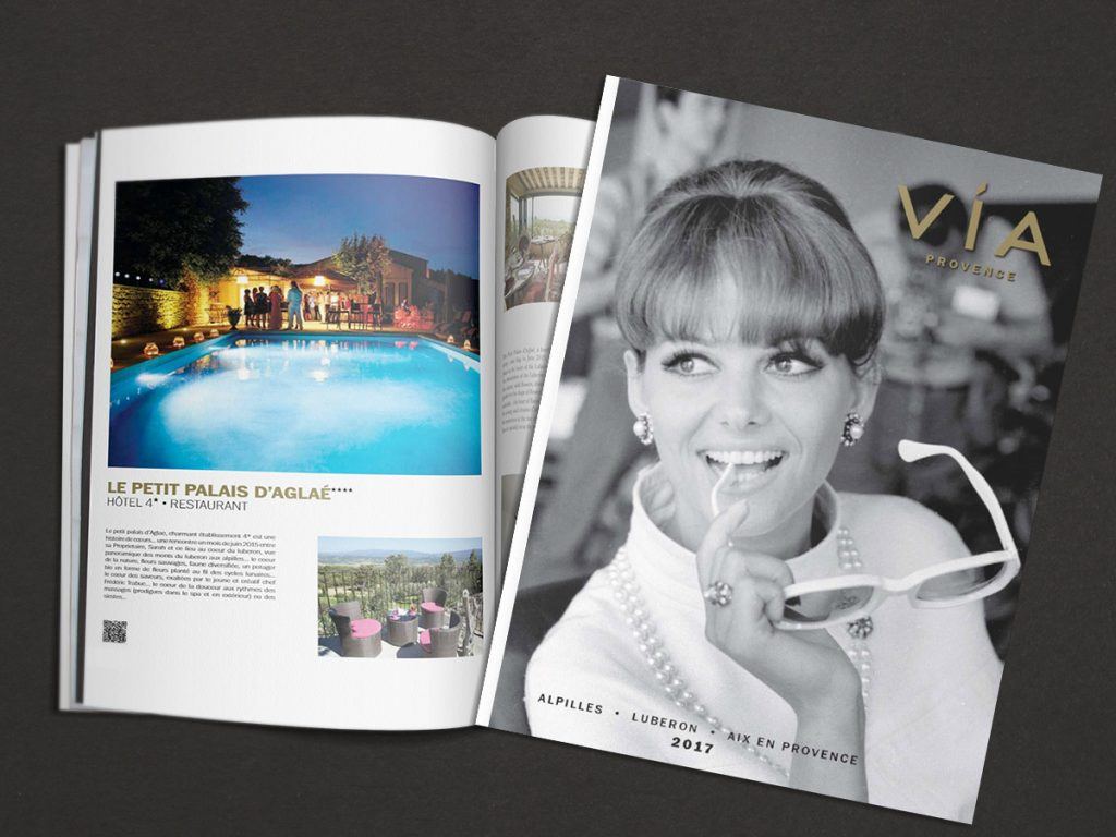 hôtel de luxe dans le Luberon