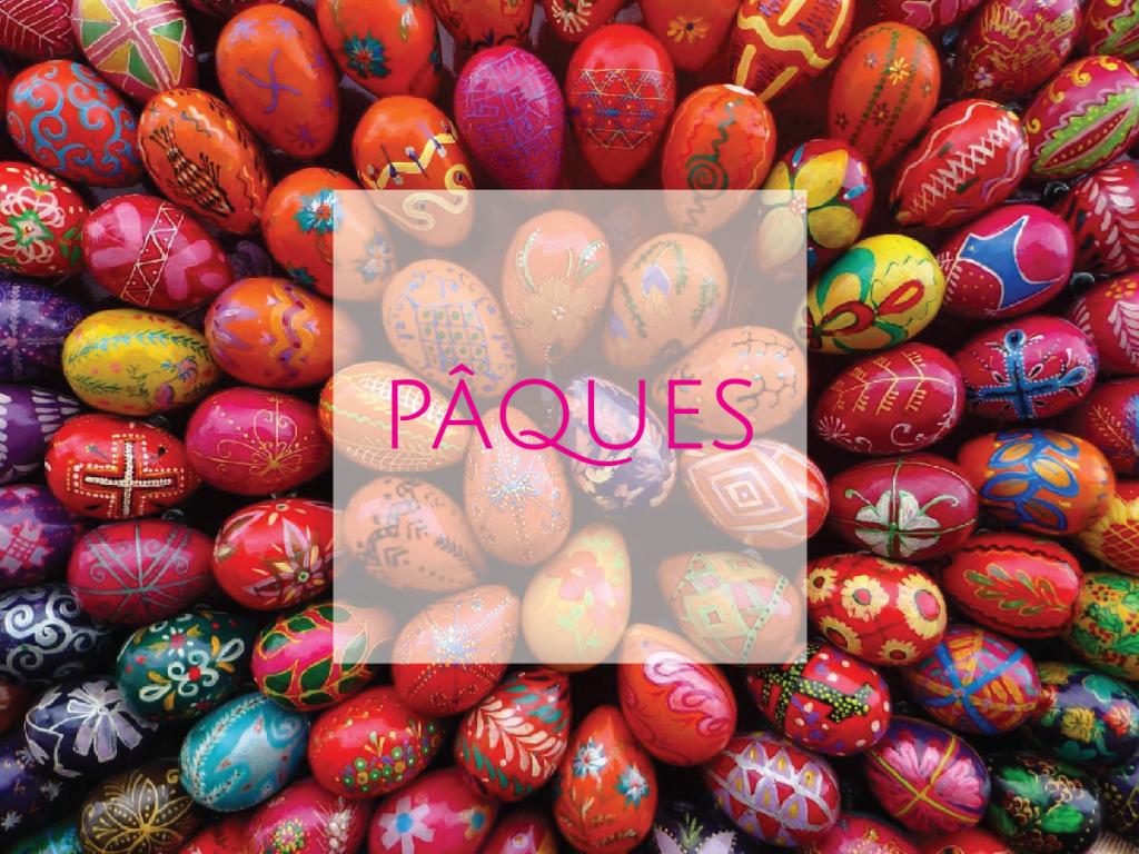 week-end de Pâques et les vacances de Printemps à Gordes
