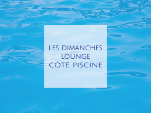 piscine de notre hôtel de charme à Gordes