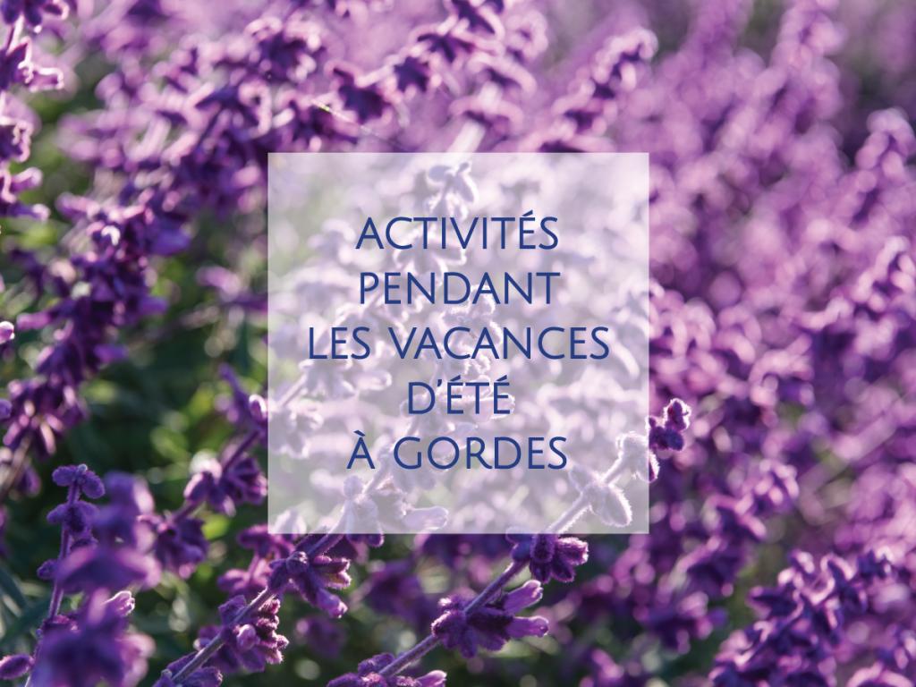 Le Petit Palais d'Aglaé, Hôtel-Spa-Restaurant à Gordes vous propose de profiter pleinement du charme de la Provence et du Luberon. Découvrez quelques unes des nombreuses activités à tester pendant vos vacances d'été à Gordes