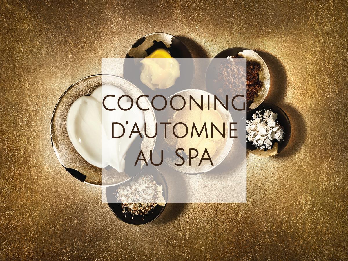 Envie de vous ressourcer avec une pause Cocooning d'automne. Le Petit Palais d'Aglaé Hôtel & Spa à Gordes en Provence. Véritable bulle de bien-être