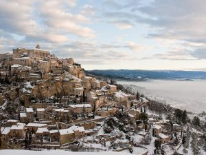 Passez vos vacances de Noël et le réveillon à Gordes au Petit Palais d'Aglaé - hôtel de charme 4 étoiles avec Spa Decléor et restaurant gastronomique - offrir un séjour à Gordes
