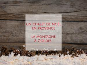 Le Petit Palais d'Aglaé, hôtel de charme 4 étoiles avec Spa et restaurant gastronomique à Gordes pendant les fêtes de fin d'année...